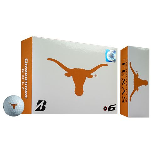 Bridgestone Golf University of Texas 2015 e6 Golf Balls 12-Pack