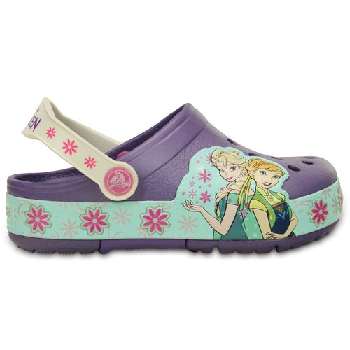 Crocs™ Kids' CrocsLight Frozen Fever Clogs