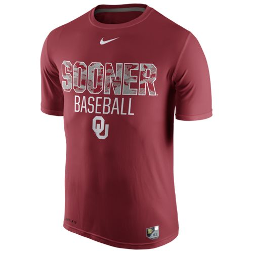 Nike™ Men's University of Oklahoma Baseball Legend Team Issue T-shirt