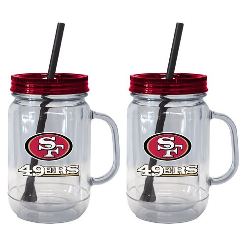 Boelter Brands San Francisco 49ers 20 oz. Handled