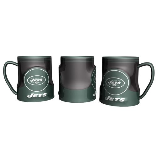 Boelter Brands New York Jets Gametime 18 oz. Mugs 2-Pack