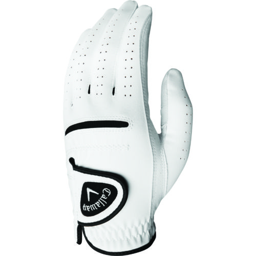 Callaway Men's Chev Feel Cadet Left-hand Golf Gloves 2-Pack