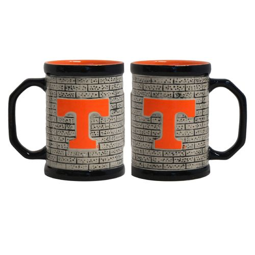 Boelter Brands University of Tennessee Stone Wall 15 oz. Coffee Mugs 2-Pack
