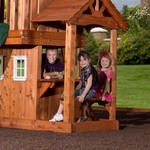 Backyard Discovery™ Tanglewood Wooden Swing Set - view number 3
