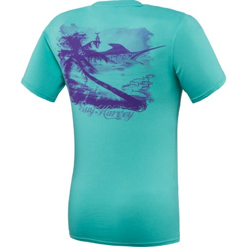 Guy Harvey Men's Escape Vintage Wash T-shirt