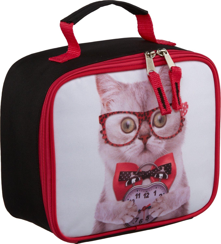 Trailmaker Girls' Kitty Photo-Real Print Lunch Box