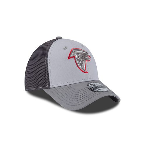 New Era Men's Atlanta Falcons Grayed Out Neo 39THIRTY Cap - view number 3