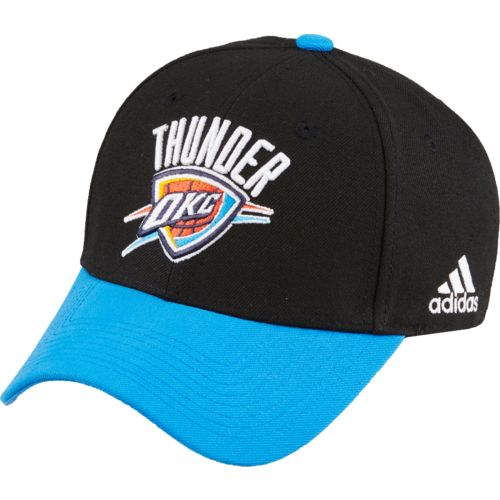 adidas™ Men's Oklahoma City Thunder Logo Structured Cap