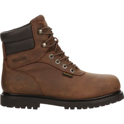 Display product reviews for Wolverine Men's Iron Ridge Steel Toe Work Boots