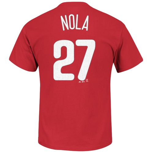 Majestic Men's Philadelphia Phillies Aaron Nola #27 T-shirt