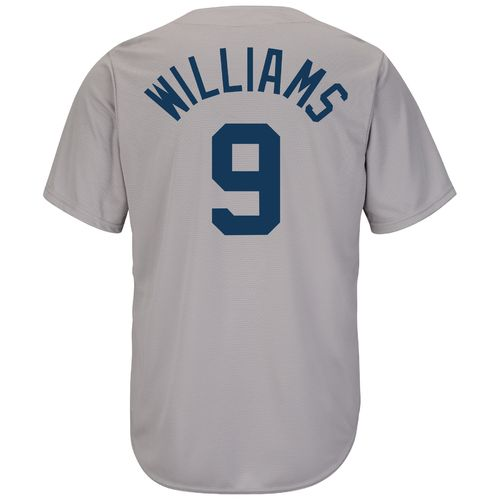 Majestic Men's Boston Red Sox Ted Williams #9 Cooperstown Cool Base 1969 Replica Jersey
