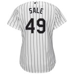 Majestic Women's Chicago White Sox Chris Sale #49 Cool Base Replica Home Jersey