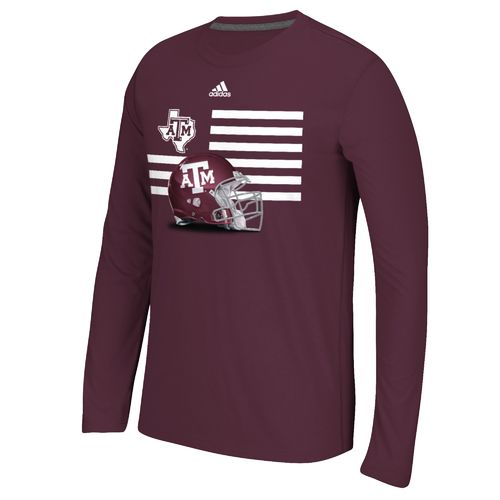 adidas™ Men's Texas A&M University Prevent Defense T-shirt
