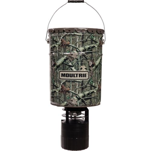Display product reviews for Moultrie 6.5 Gallon Pro Hunter Digital Hanging Feeder