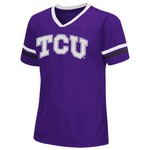 Colosseum Athletics™ Girls' Texas Christian University Titanium T-shirt
