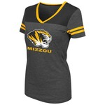 Colosseum Athletics™ Women's University of Missouri Twist V-neck T-shirt