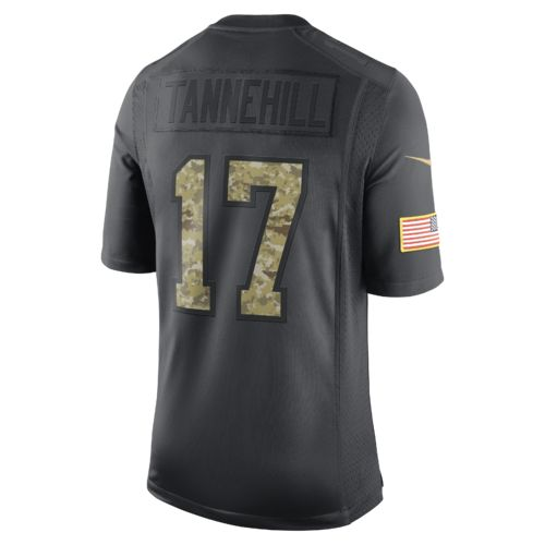Nike Men's Miami Dolphins Ryan Tannehill #17 STS Jersey - view number 1