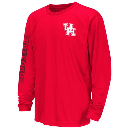 Colosseum Athletics™ Boys' University of Houston Long Sleeve T-shirt