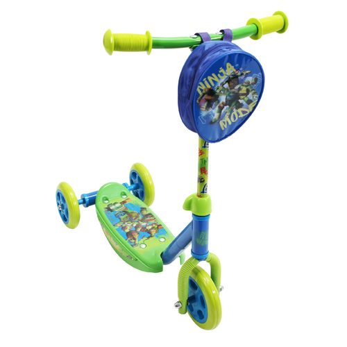 Display product reviews for PlayWheels Kids' Teenage Mutant Ninja Turtles 3-Wheel Scooter