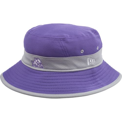 New Era Men's Texas Christian University Training Perf Bucket Hat