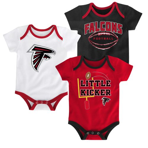 NFL Infants' Atlanta Falcons 3 Points 3-Piece Bodysuit Set