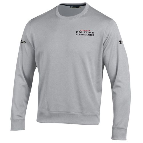 Under Armour™ NFL Combine Authentic Men's Atlanta Falcons Armour® Fleece Crew Pullover