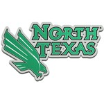 Stockdale University of North Texas Laser-Cut Auto Emblem