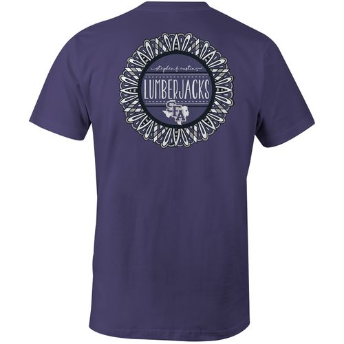 Image One Women's Stephen F. Austin State University Color Me Comfort Color T-shirt