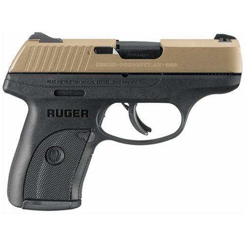 Ruger® LC9S 9mm Striker-Fired Semiautomatic Pistol