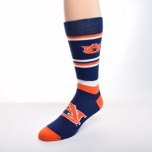 For Bare Feet Men's Auburn University Dress Socks