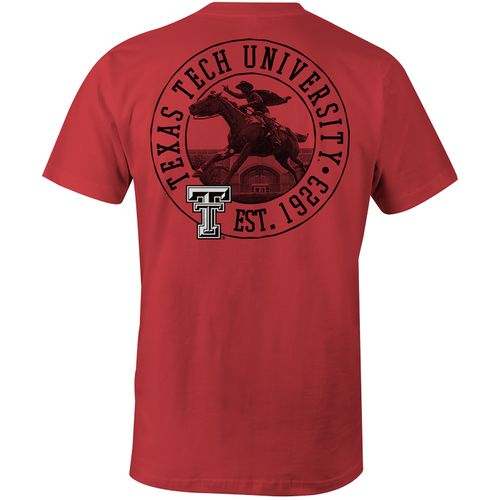 Image One Men's Texas Tech University Comfort Color T-shirt