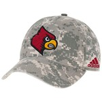 adidas™ Men's University of Louisville Digital Camo Adjustable Slouch Cap