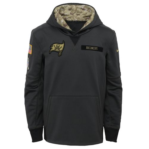 Nike™ Boys' Tampa Bay Buccaneers Salute to Service Hoodie - view number 1