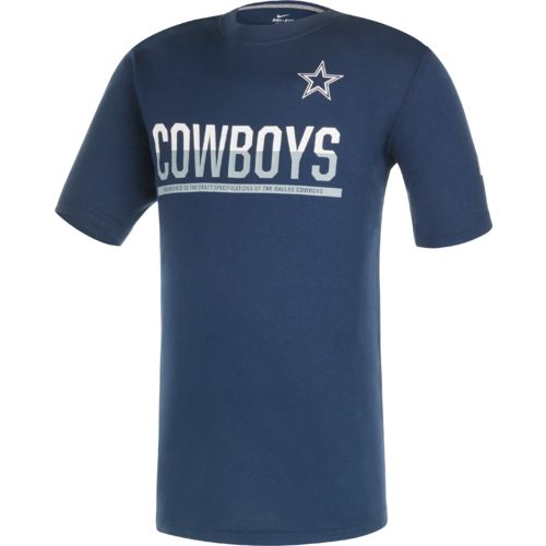 Nike Boys' Dallas Cowboys Team Practice 16 Legend T-shirt