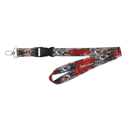 NFL Kansas City Chiefs Digicam Lanyard