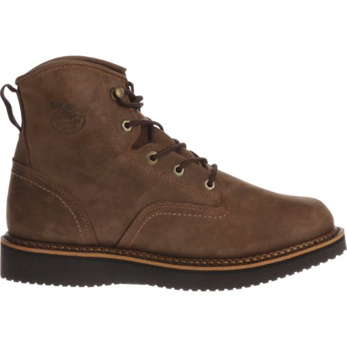 Display product reviews for Georgia Men's Wedge Work Boots