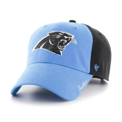 '47 Carolina Panthers Women's Sparkle 2-Tone Cleanup Cap