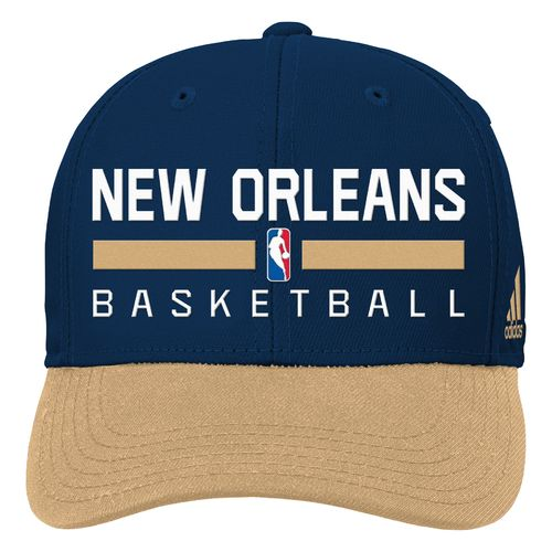 adidas™ Boys' New Orleans Pelicans Structured Adjustable Cap