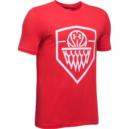 Under Armour™ Boys' Basketball Badge T-shirt