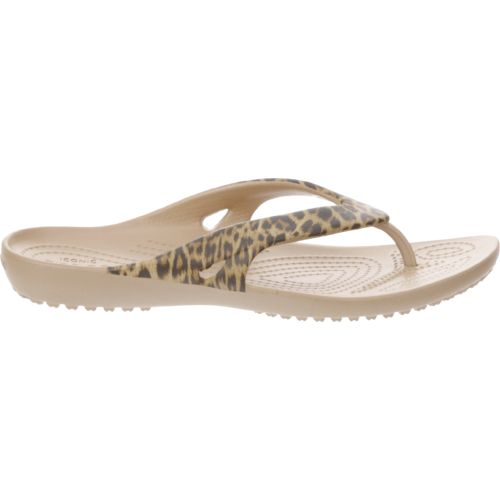 Display product reviews for Crocs™ Women's Kadee II Leopard Print Flip-Flops