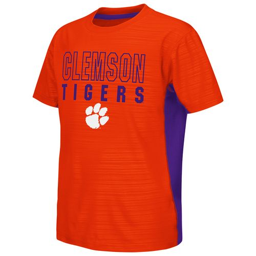 Colosseum Athletics™ Youth Clemson University In the Vault Cut and Sew T-shirt