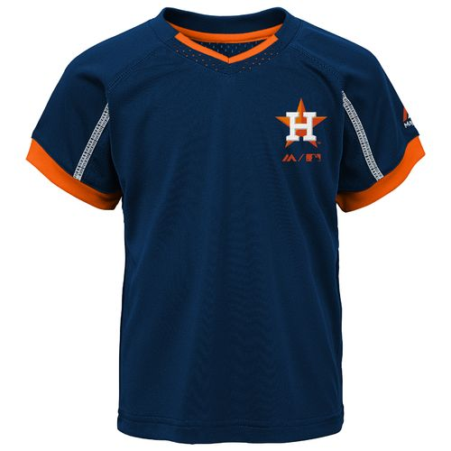 Majestic Toddlers' Houston Astros Legacy Short Set