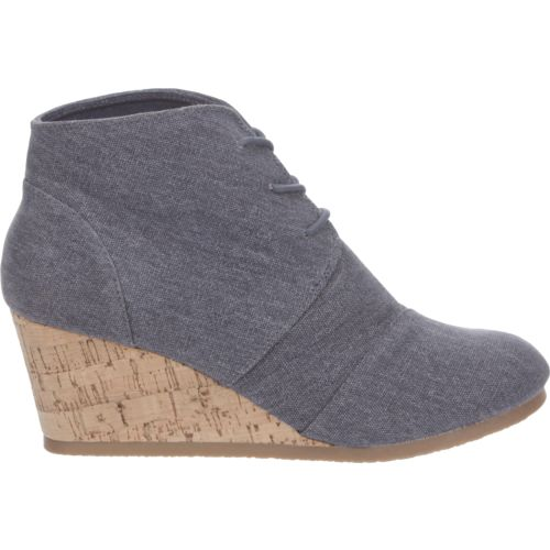 Sugar Women's Maybee Lace-Up Wedge Booties