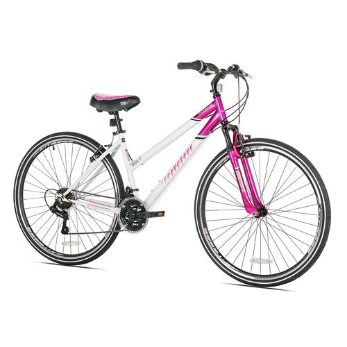 KENT Women's Susan G. Komen 700c 21-Speed Hybrid Bicycle