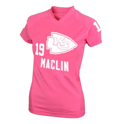 NFL Girls' Kansas City Chiefs Jeremy Maclin #19 Fashion Performance T-shirt
