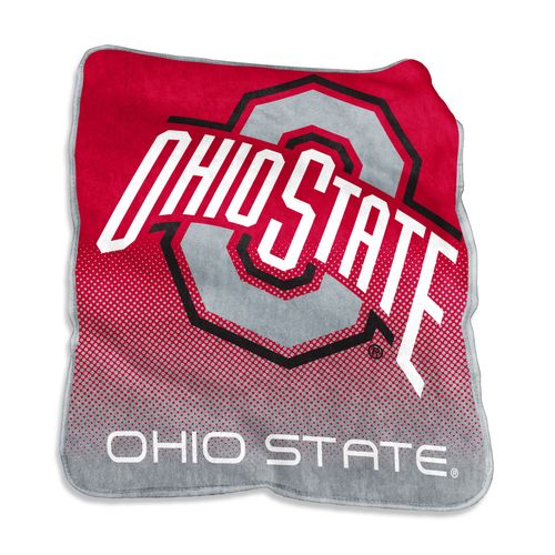 Logo™ Ohio State University 50' x 60' Raschel Throw