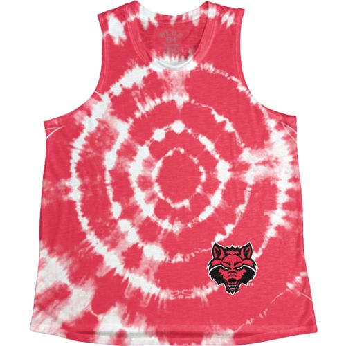 Blue 84 Women's Arkansas State University Retro Liquid Muscle Tank Top - view number 1