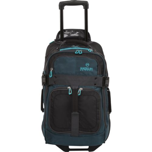 Magellan Outdoors 22 in Upright Rolling Duffel Bag