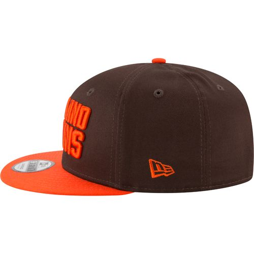 New Era Men's Cleveland Browns 9FIFTY Baycik Snapback Cap - view number 4
