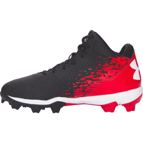 Under Armour Boys' Leadoff Mid RM Jr. Baseball Cleats